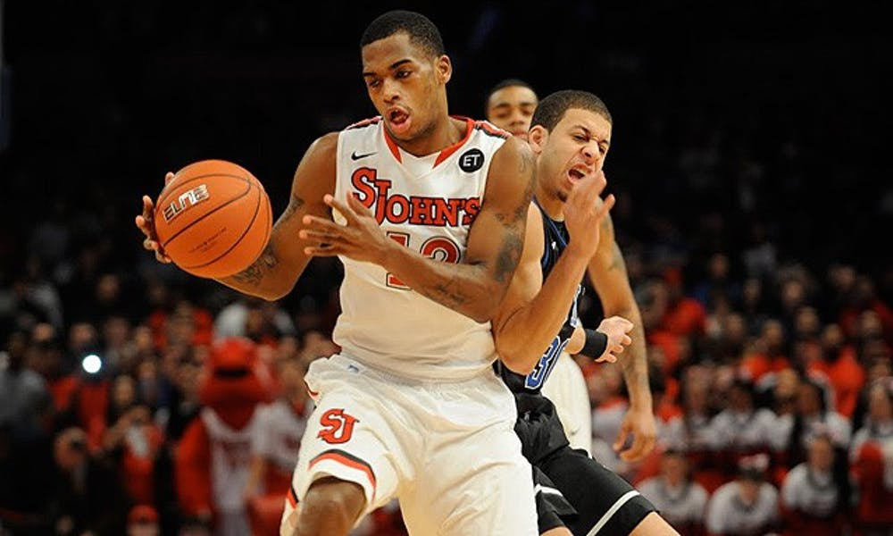 Guard Dwight Hardy crashed the lane to lead St. John's with 26 points on a 9-for-13 shooting performance.