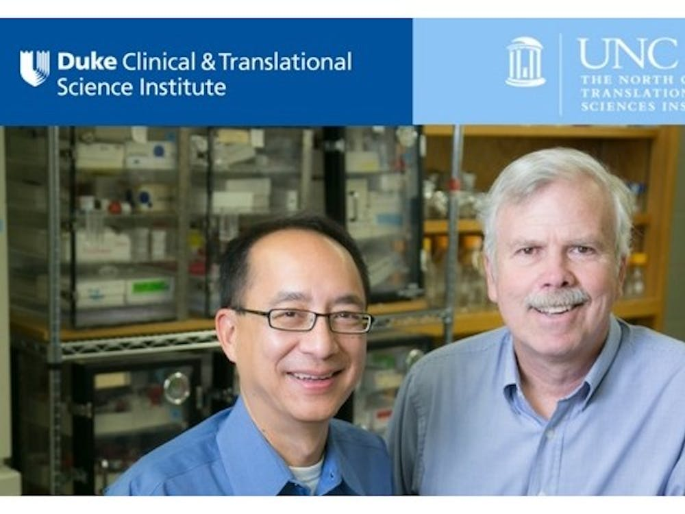 Donald Lo and Albert Baldwin have collaborated to studyglioblastoma multiforme, an aggressive form of brain cancer.