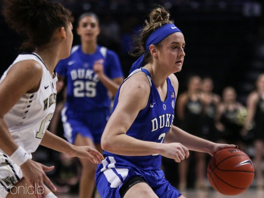 Haley Gorecki's will look to etch her name in the Duke record books during her final year in Durham.