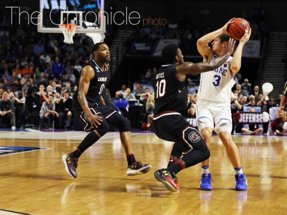 The Gamecocks wore Duke down with their physicality on both ends of the court and took advantage of a deeper bench when foul trouble set in.