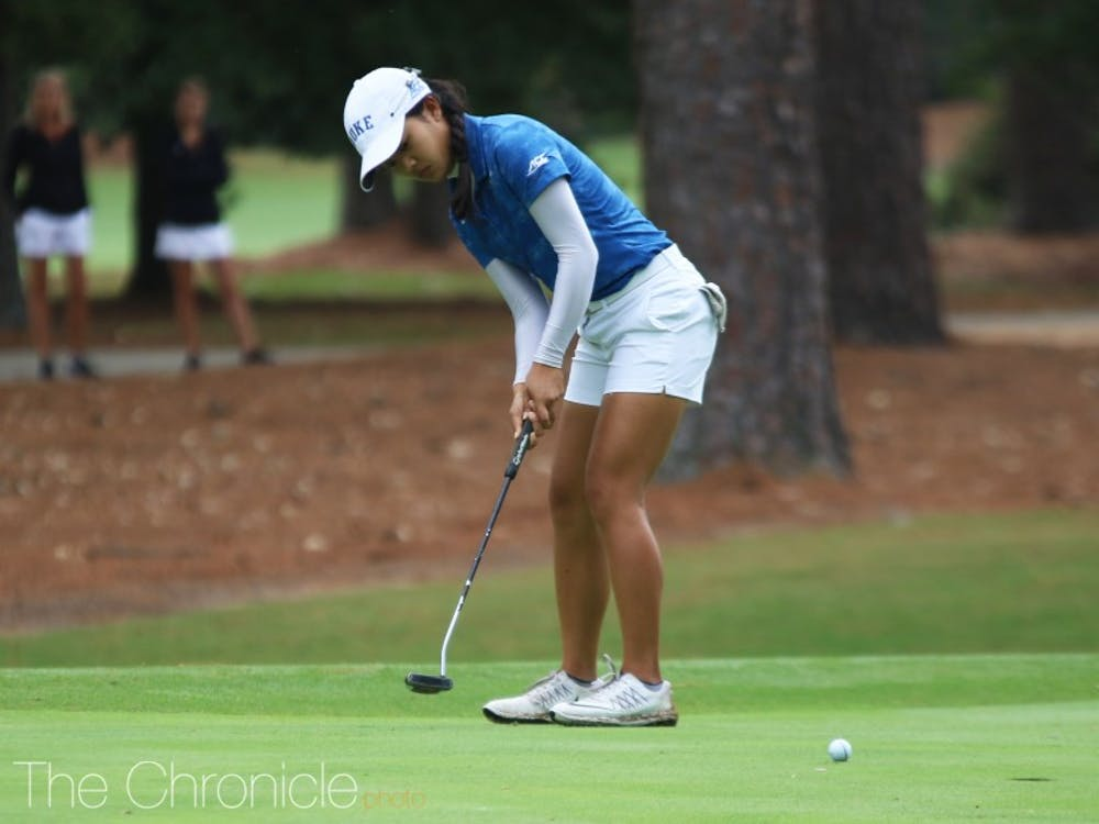 .Freshman Jaravee Boonchant was the second-highest finisher in the Blue Devils' lineup, ending up in a tie for 34th.