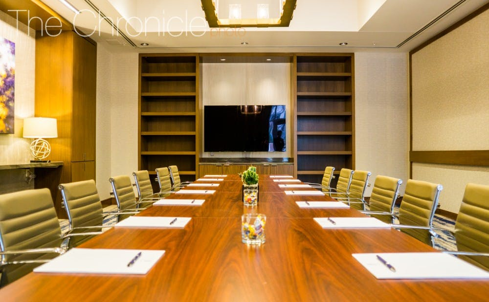<p>The JB Duke Hotel provides multiple meeting rooms for various conferences and business meetings.</p>