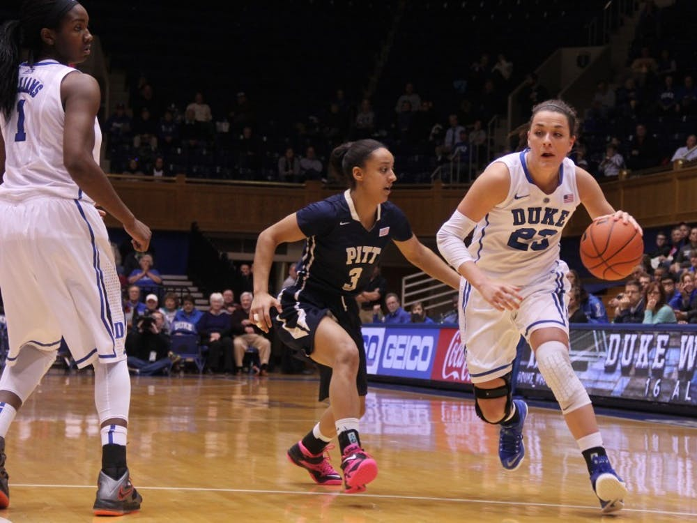 Lindsey Harding was a vital part to Duke's storied season, scoring 13.6 points per game and serving as the floor general.