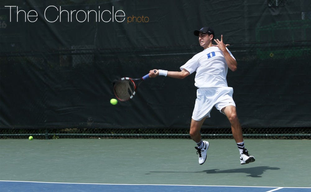 <p>Junior Nicolas Alvarez will make his Duke season debut against some of the top singles players in the country.</p>