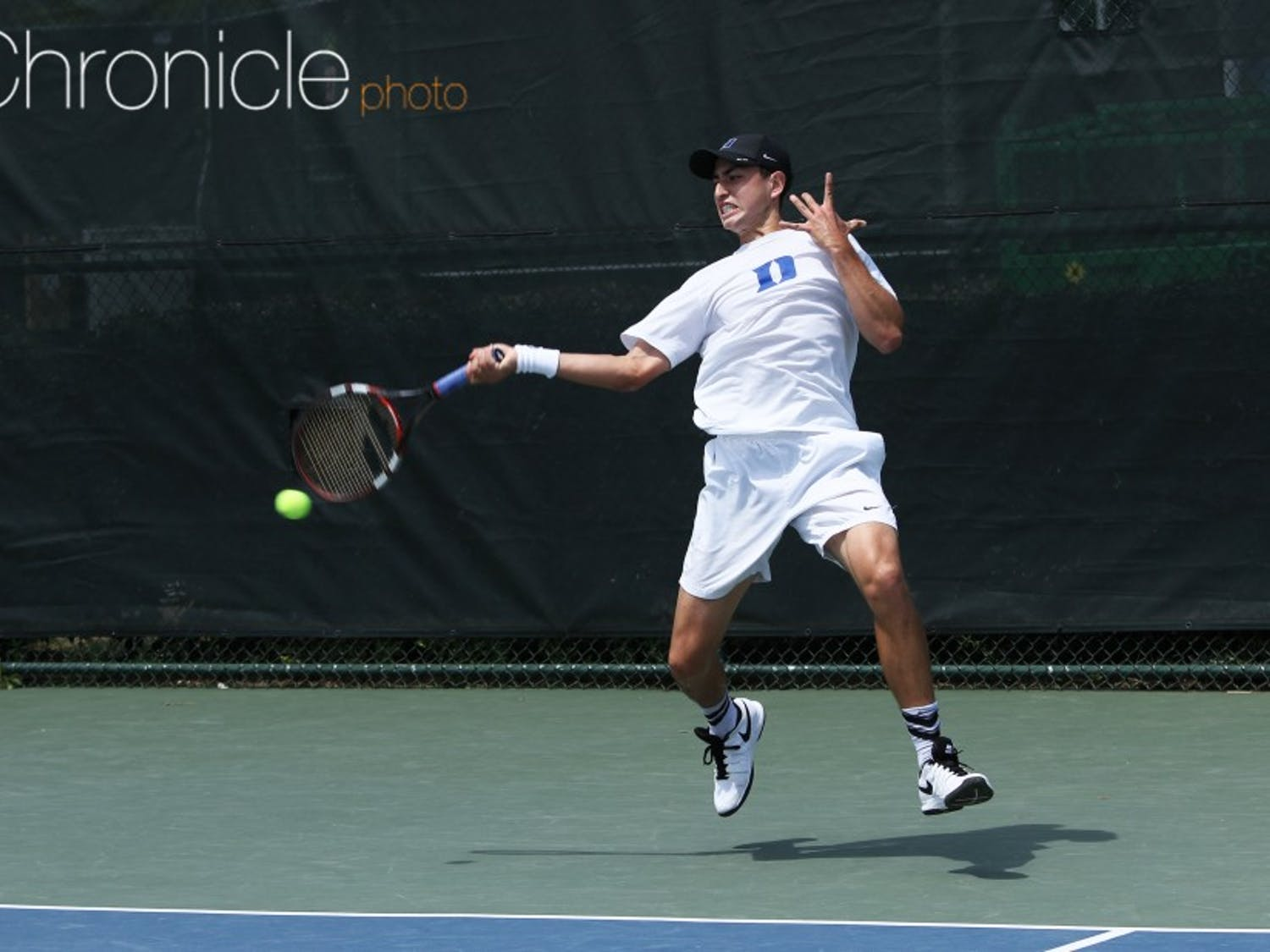 Junior Nicolas Alvarez will make his Duke season debut against some of the top singles players in the country.