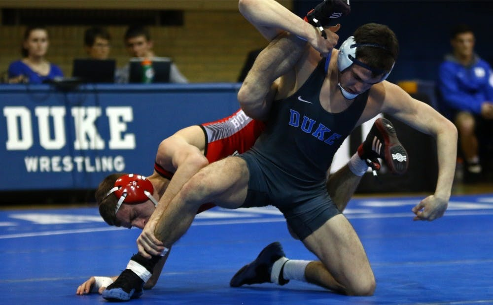 <p>Duke wrestling has been out of sorts lately.</p>