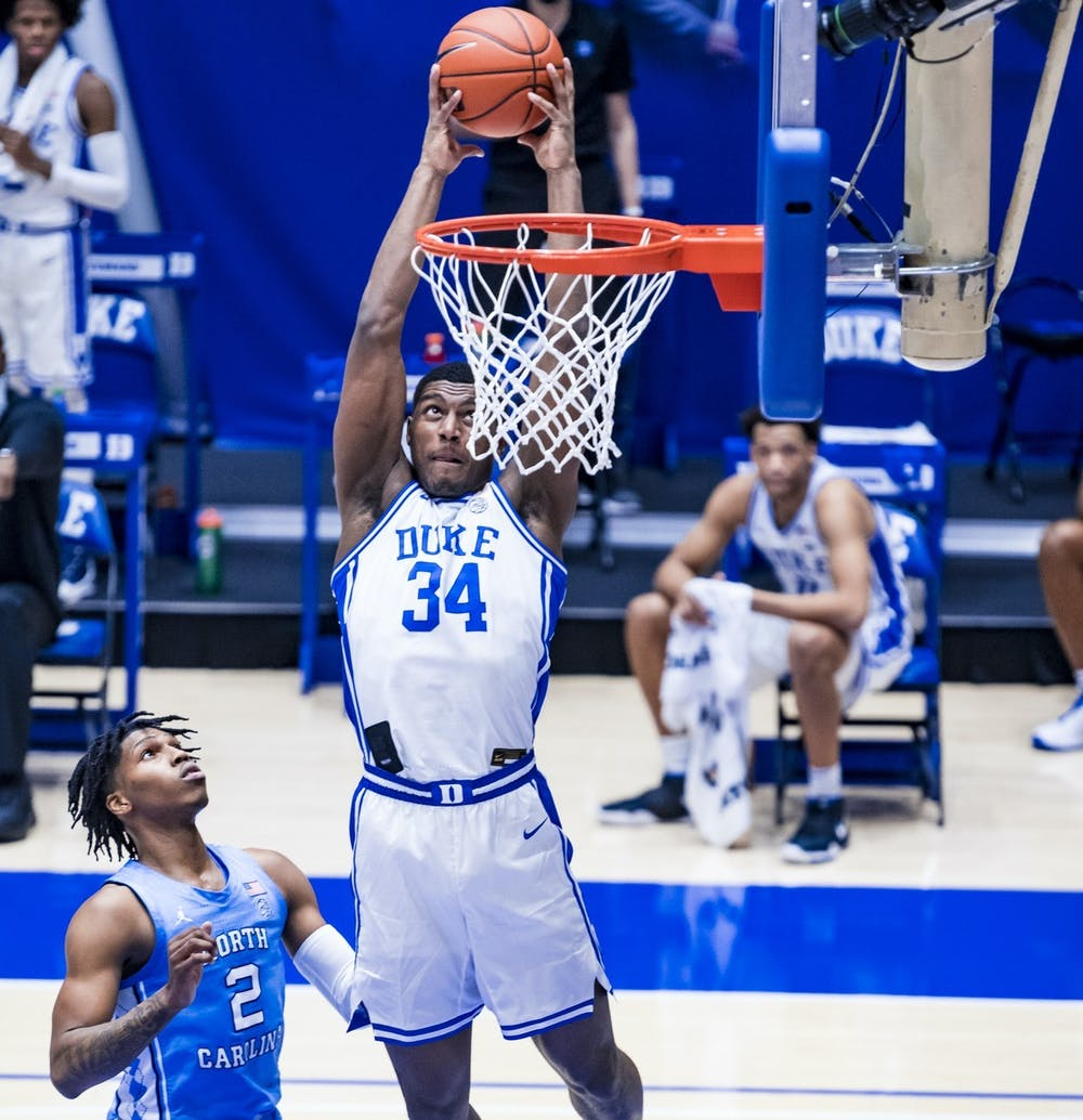 <p>Coleman stepped up in a February matchup against North Carolina.</p>