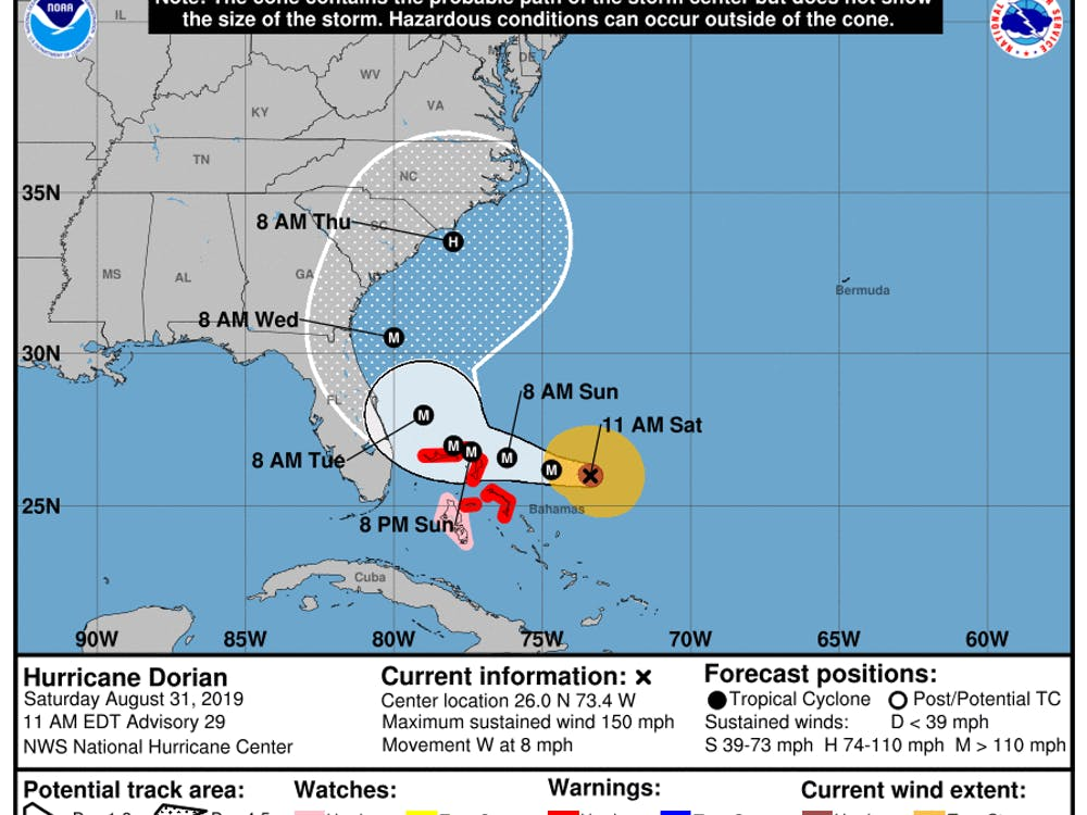 Courtesy of National Hurricane Center
