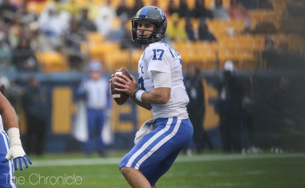 Daniel Jones came to Duke without a scholarship, turning down his only other offer—one that would've seen him play at Princeton.