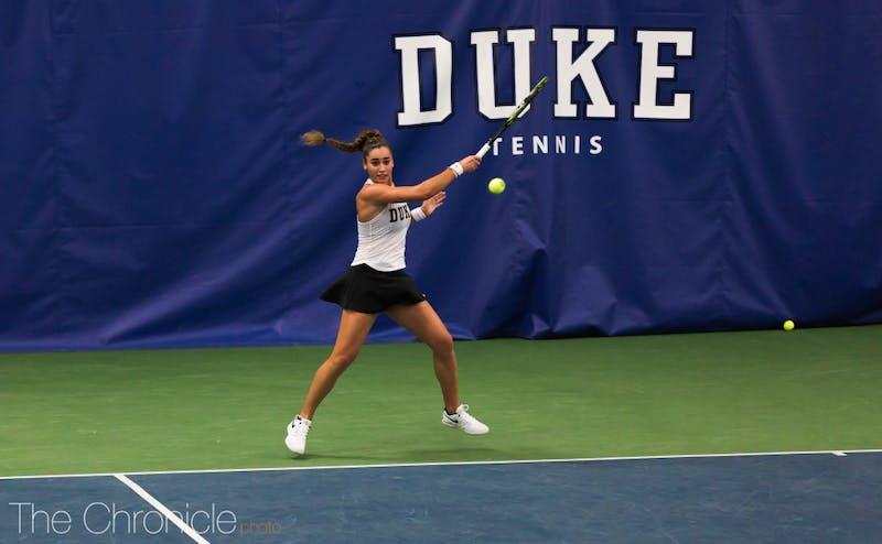 Duke women's tennis sweeps Boston College for 10th ...