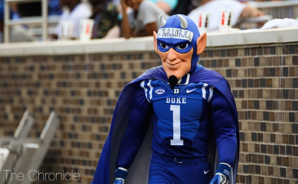 <p>There is a lot of excitement surrounding the Duke football team right now.</p>