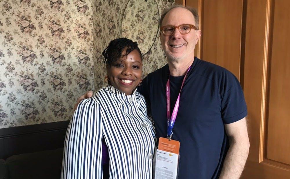 'Bedlam' director Ken Rosenberg and Black Lives Matter co-founder Patrisse Cullors at the 2019 Sundance Film Festival.