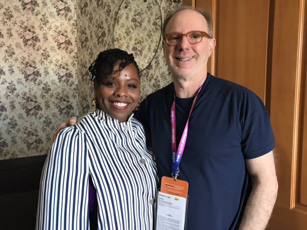 'Bedlam' director Ken Rosenberg and Black Lives Matter co-founder Patrisse Cullors at the 2019 Sundance Film Festival.