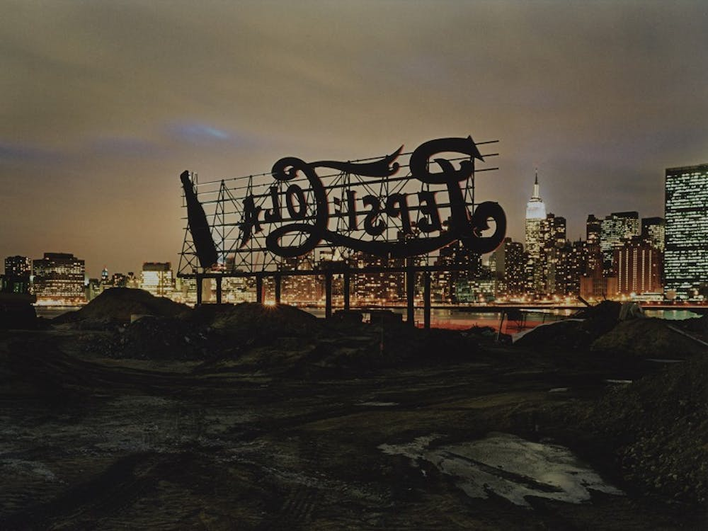 "Lynn Saville's ""Pepsi-Cola, New York"" features in ""Night(Light),"" one of five free exhibits offered by the North Carolina Museum of Art this fall."