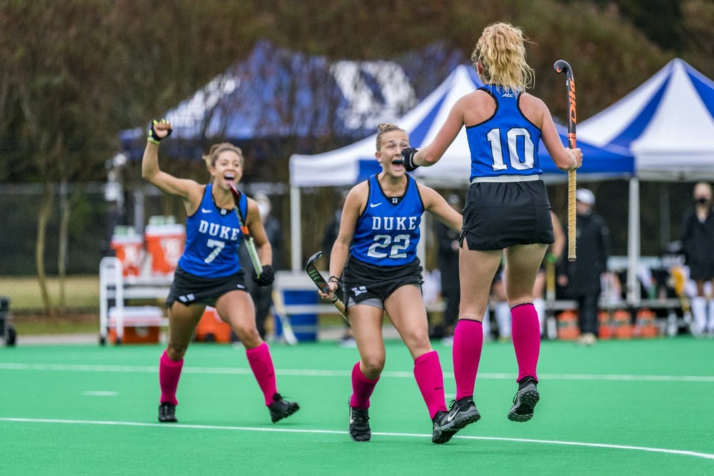 Duke field hockey has consistently improved over the course of this season, finally snagging its first win this past weekend.