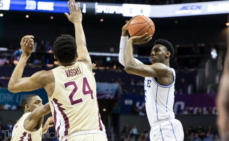 9007a8f02360 Column  Poor 3-point shooting could prevent Duke men s basketball from  winning a title