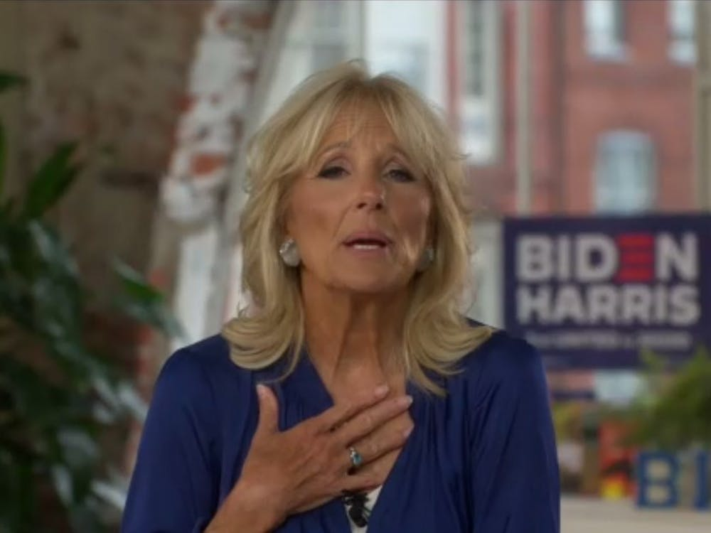 Educator and former Second Lady Jill Biden spoke to working parents at a Sept. 17 virtual event, which focused on education during the COVID-19 pandemic.