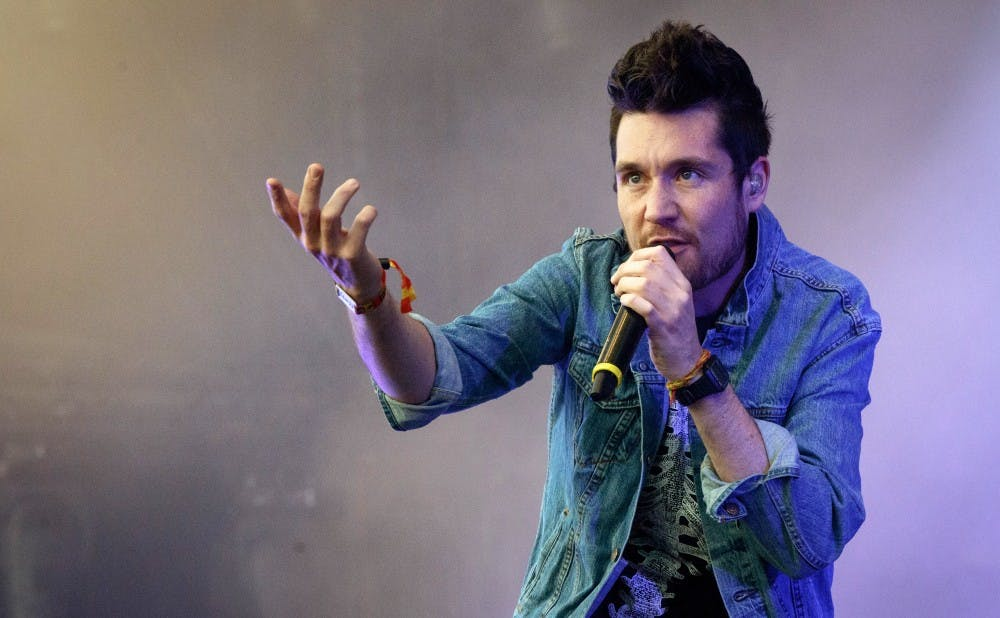 Frontman Dan Smith (above) has pitched his band's third album as somewhat of a concept album.