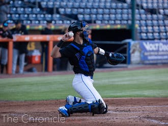 Michael Rothenberg provided some pop at the plate for the Blue Devils.