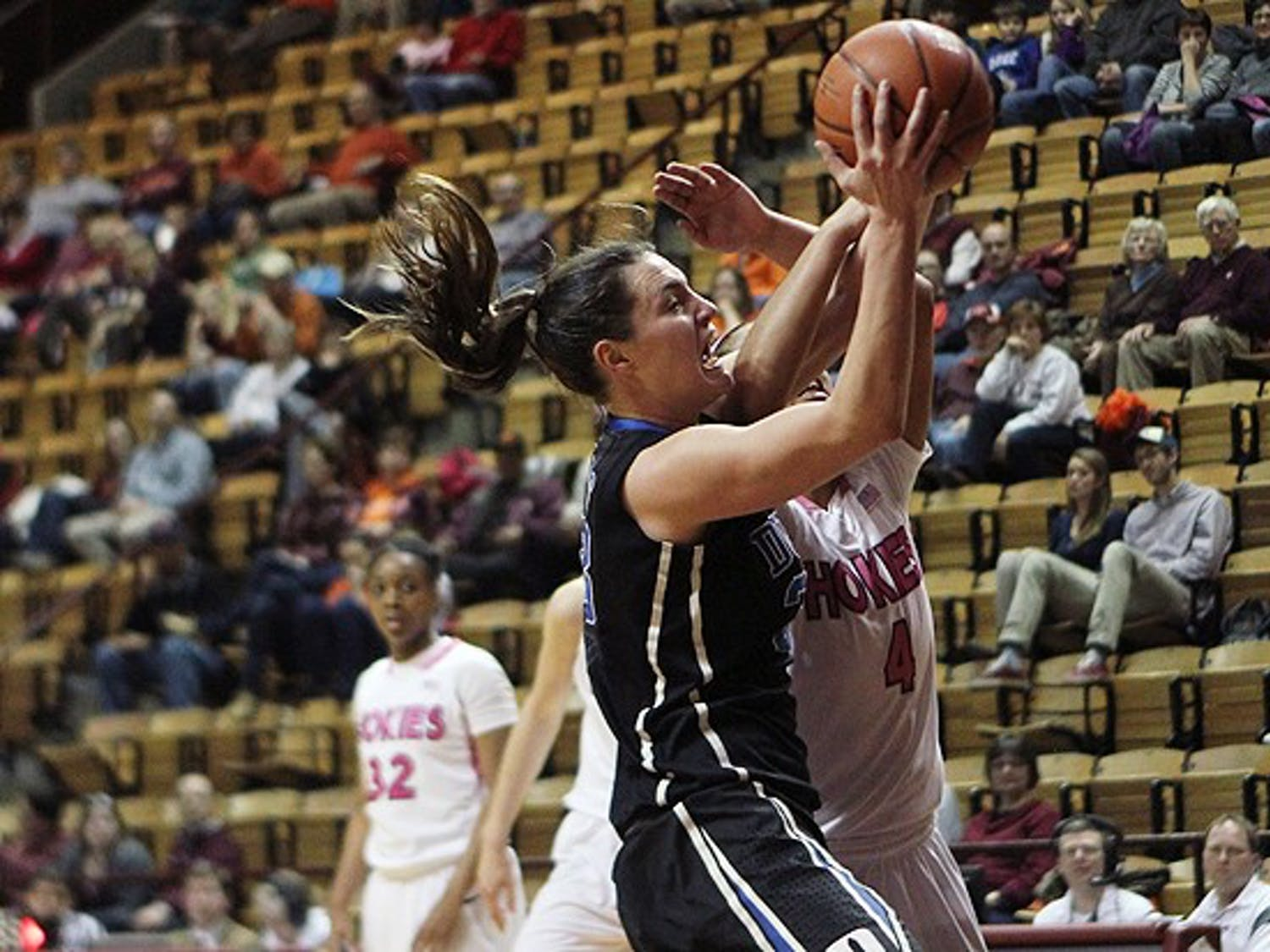 Haley Peters matched a career high with 25 points.