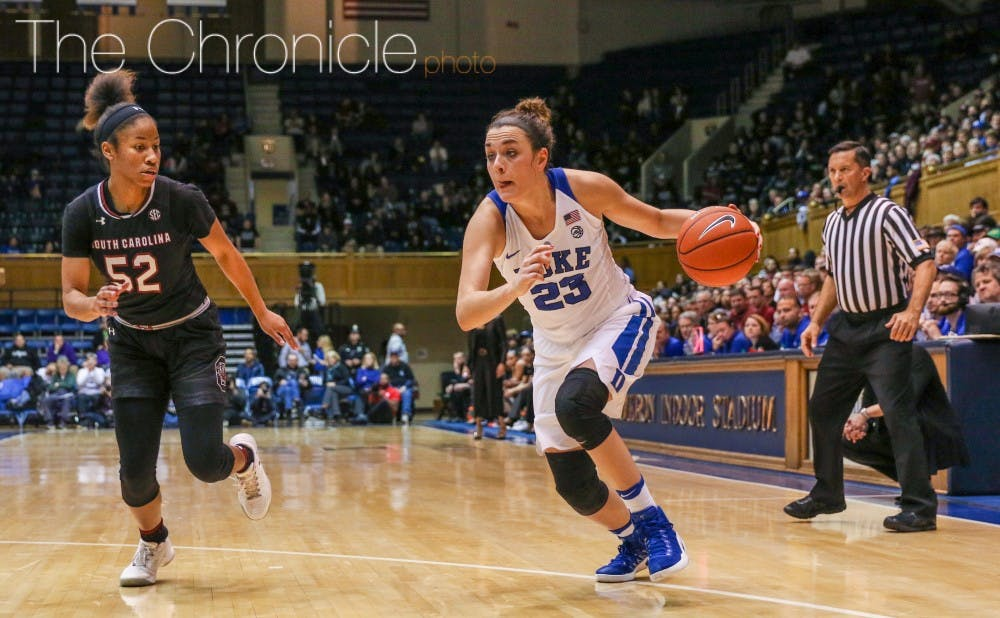 <p>Rebecca Greenwell had the best game of her career against a top-10 opponent, with 29 points on 9-of-15 shooting, including 4-of-7 from 3-point range.&nbsp;</p>