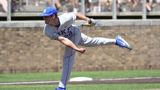 Bryce Jarvis pitched seven innings on June 3 for the Hillsboro Tops, throwing 11 strikeouts in the process.