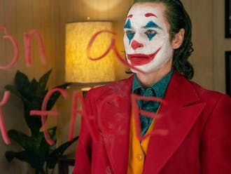 """""""Joker,"""" screening Feb. 21 and 22, is one of the many films Freewater Presentations will show on campus this semester."""
