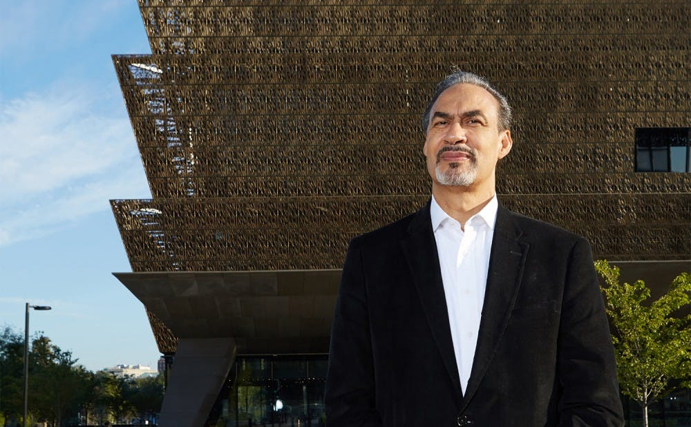 <p>Phil Freelon was the architect for the&nbsp;Smithsonian National Museum of African American History and Culture as well as the&nbsp;National Center for Civil Rights in Atlanta.</p>
