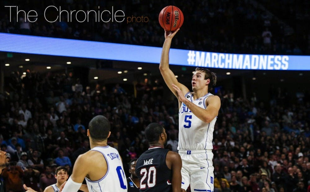 <p>Luke Kennard has struggled to get consistent playing time thus far in his NBA career</p>