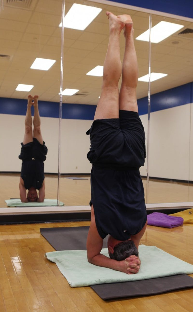 Duke yoga instructor John Orr may have the most interesting backstory you've never heard of.