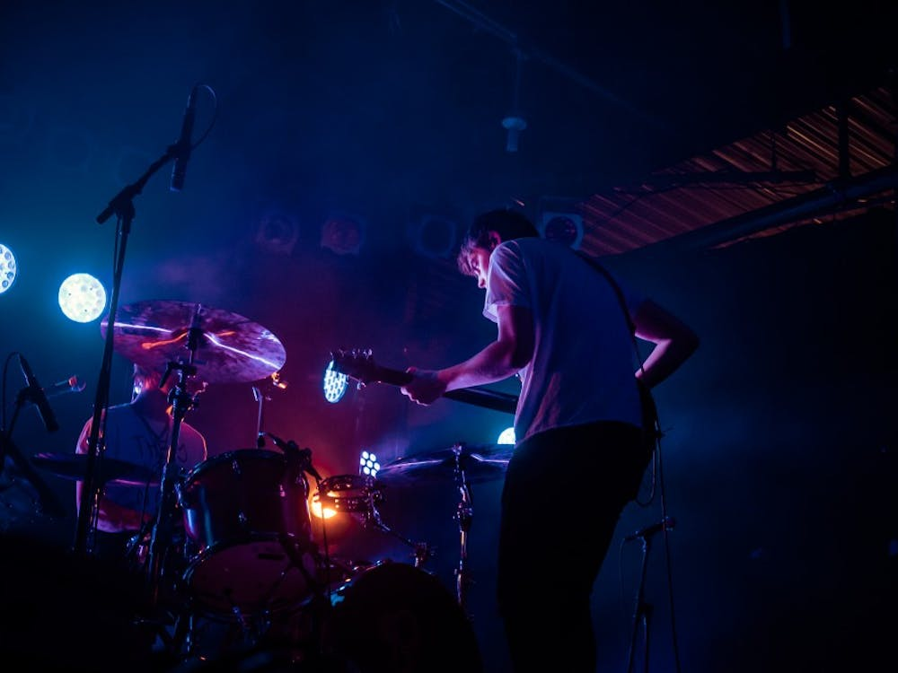 Hippo Campus, the young band from St. Paul, Minn., played to a sold-out Cat's Cradle in Carrboro last Saturday.