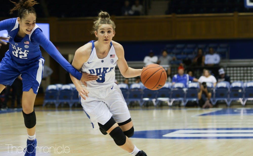 <p>Miela Goodchild might play a big role for the Blue Devils this year.</p>