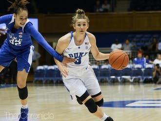 Miela Goodchild might play a big role for the Blue Devils this year.
