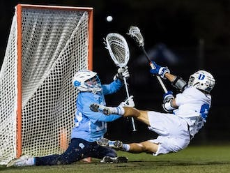 Senior attackman Joe Robertson hit the diving game-winner with less than a minute to go in overtime.