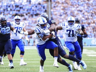 North Carolina's defense has struggled mightily against the run in recent weeks.