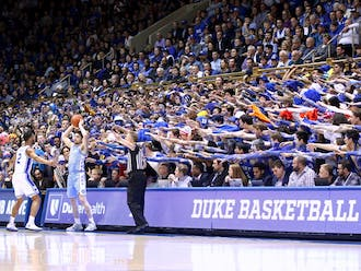 """Our Derek Saul and Conner McLeod had the honor of covering last year's Duke vs. North Carolina game at Cameron Indoor Stadium, the final memory many have of Duke during """"normal"""" times."""