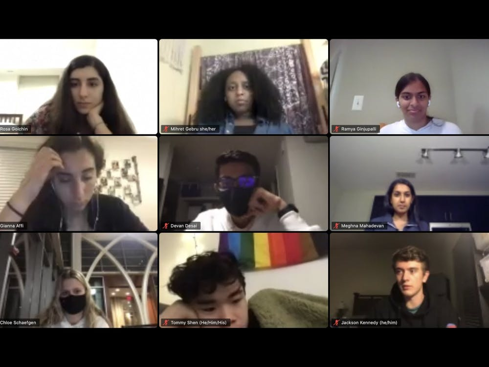 <p>Duke Student Government senators heard from Duke SHAPE, which aims to combat sexual assault and harassment, at their Wednesday meeting.&nbsp;</p>