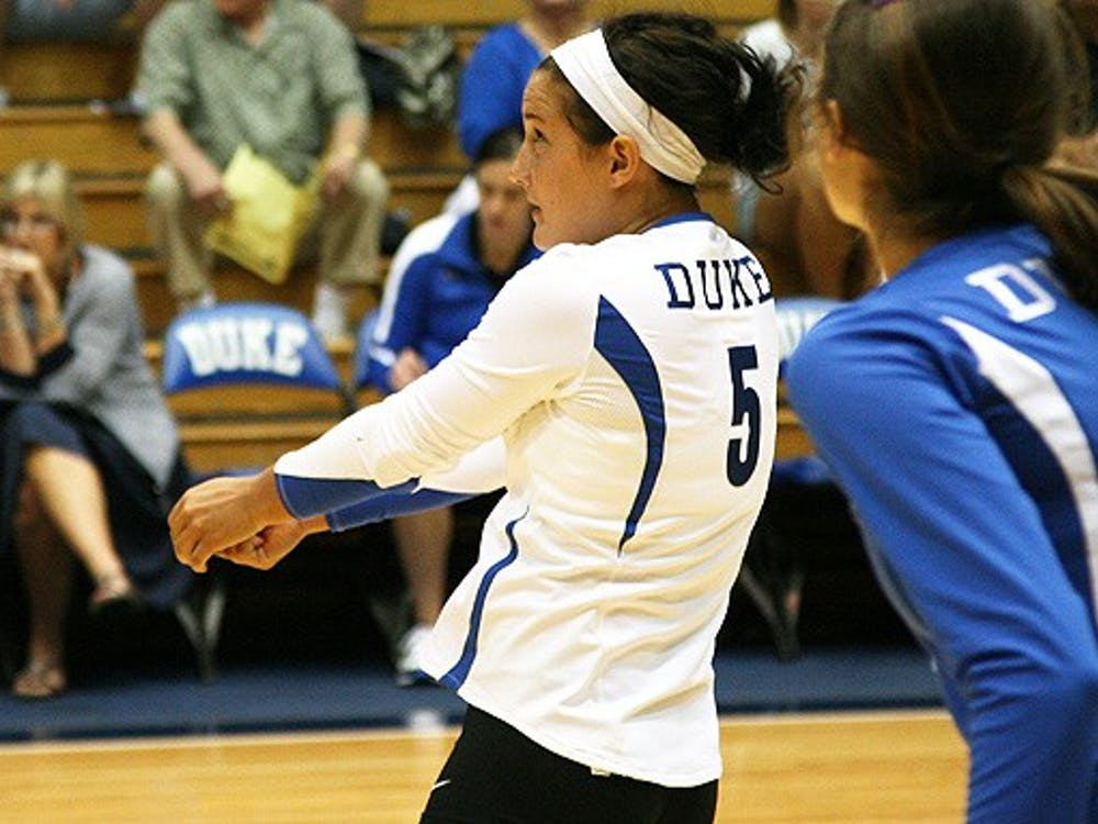 Ali McCurdy earned an All-Tournament team selection after posting 31 digs Sunday.