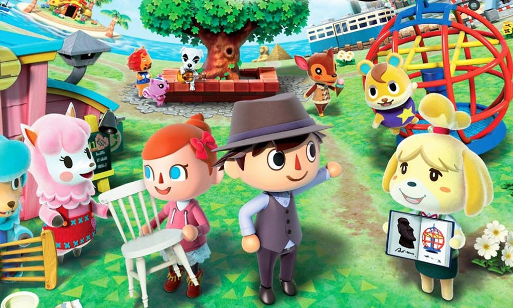 "<p>Animal Crossing: New Horizons"" is a life simulation game where players build homes and design their own islands.</p>"