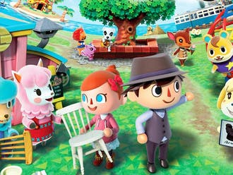 "Animal Crossing: New Horizons"" is a life simulation game where players build homes and design their own islands."