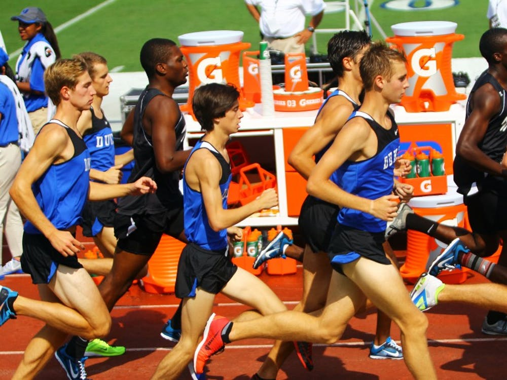 A race of ups and downs left the Blue Devils sitting in 10th place at the NCAA Pre-Nationals in Indiana.