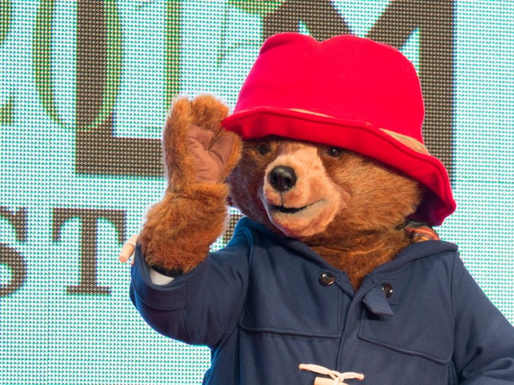 "Paddington Bear makes an appearance at Tokyo International Film Festival in 2015. ""Paddington 2"" has made headlines for its rave reviews."