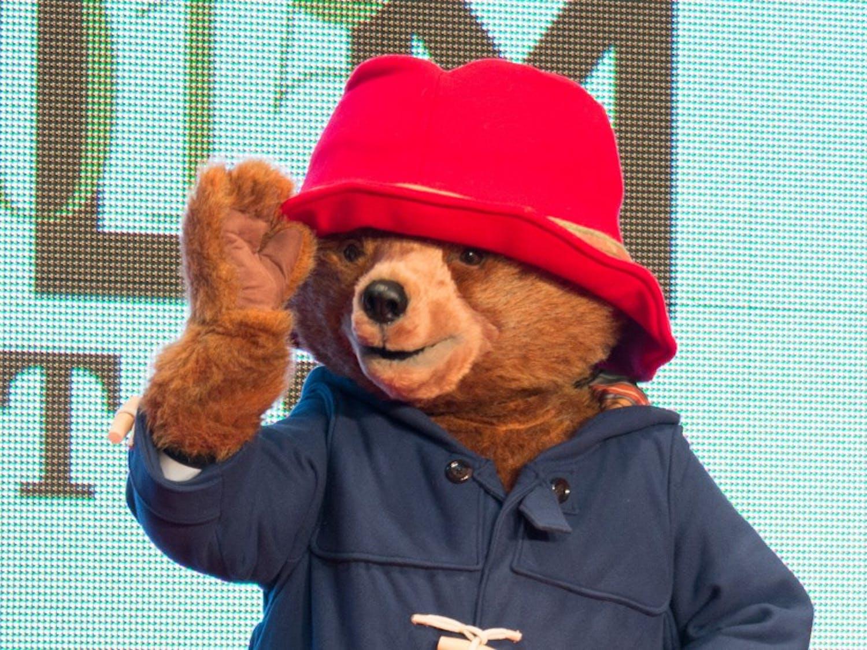 "Paddington Bear makes an appearance at Tokyo International Film Festival in 2015. ""Paddington 2"" has made headlines for its rave reviews."