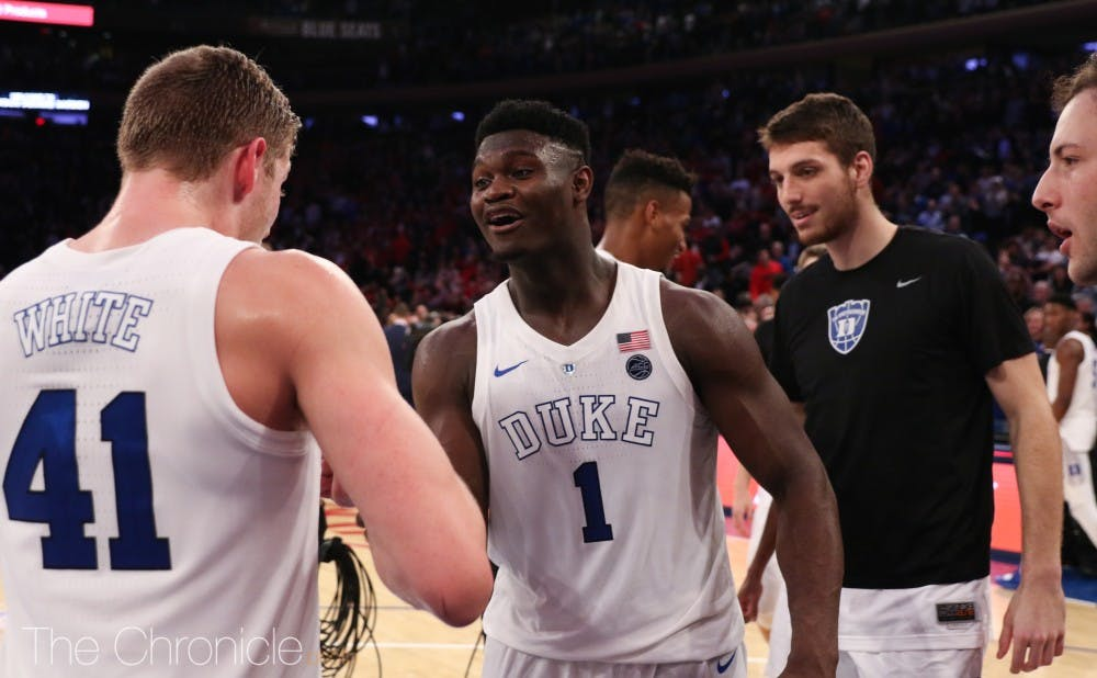 <p>Duke is now the nation's team to beat.</p>