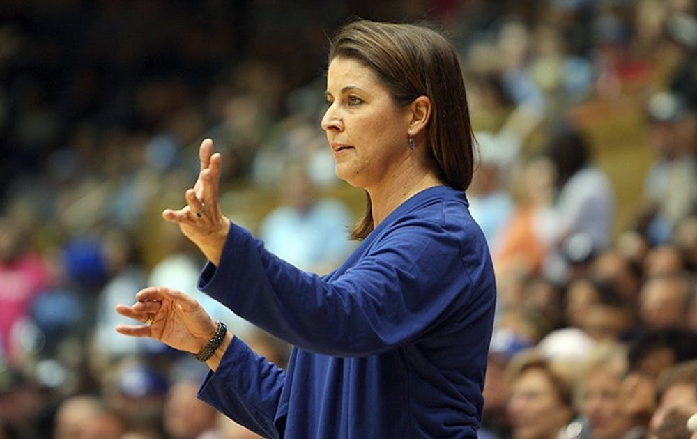 McCallie dominated the ACC over her first six seasons at Duke, but couldn't get over that final hump.