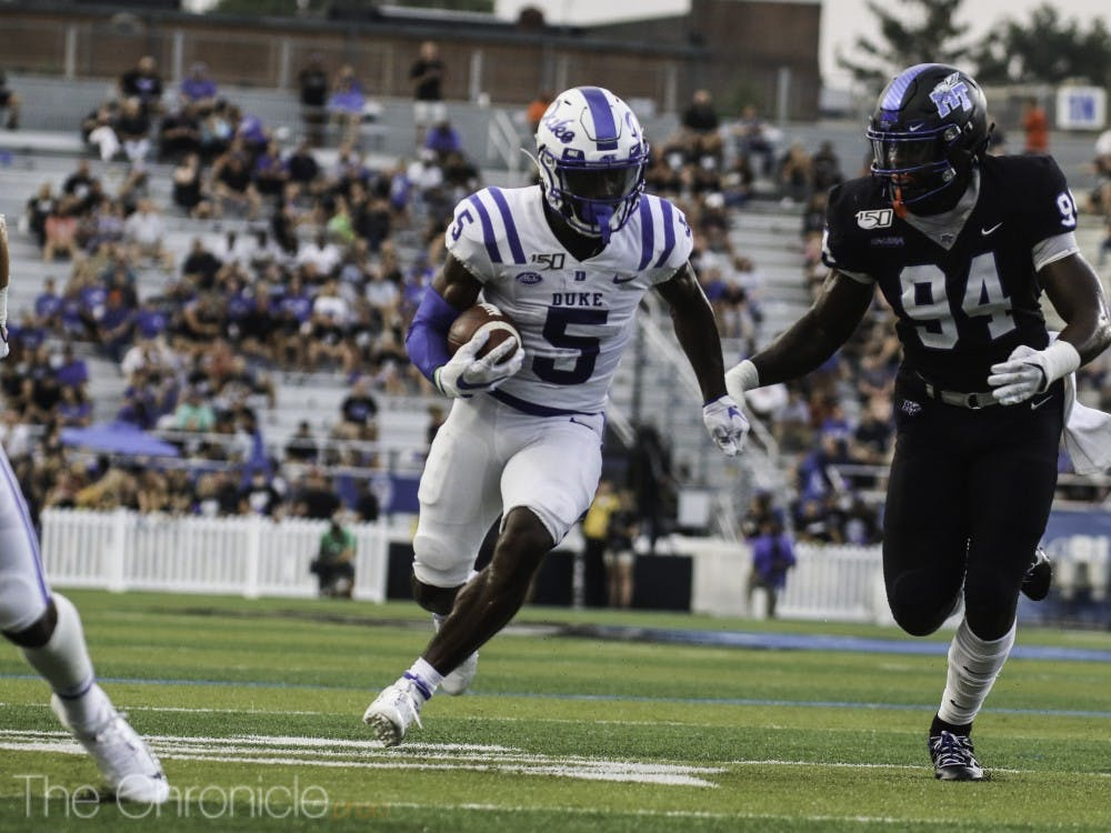 <p>Jalon Calhoun kept up his impressive freshman campaign with a big first half Saturday.</p>