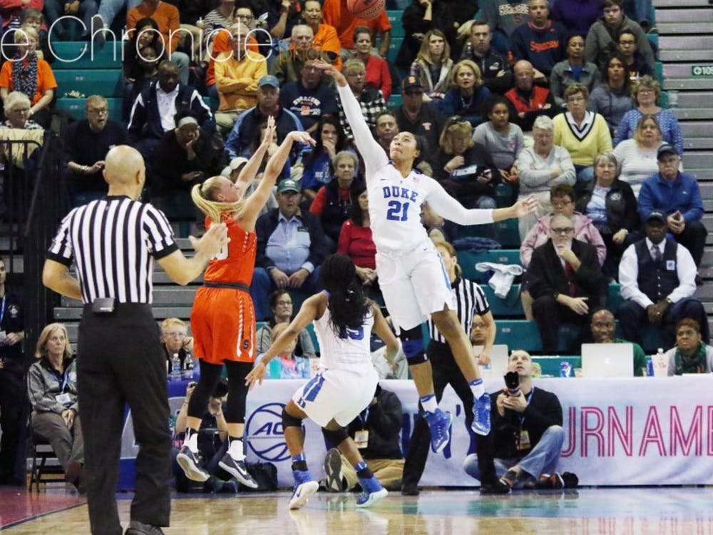 The Blue Devils held Syracuse to season-lows in almost every major offensive statistic.