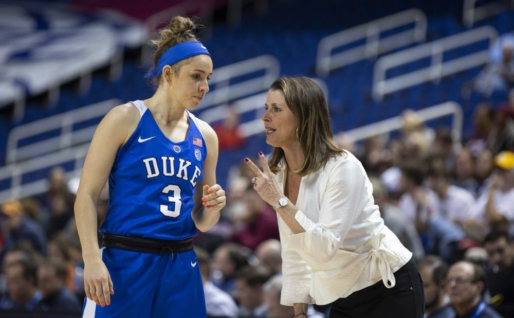 <p>The emergence of freshman Miela Goodchild was a rose in a thorn bush for Duke this season.&nbsp;</p>