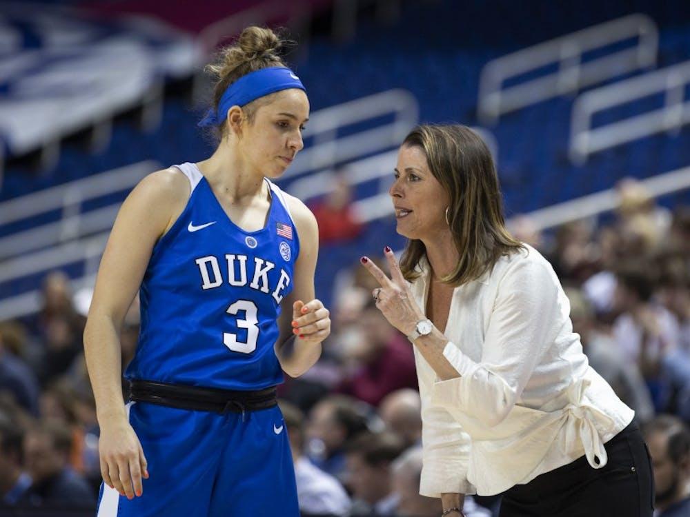 The emergence of freshman Miela Goodchild was a rose in a thorn bush for Duke this season.