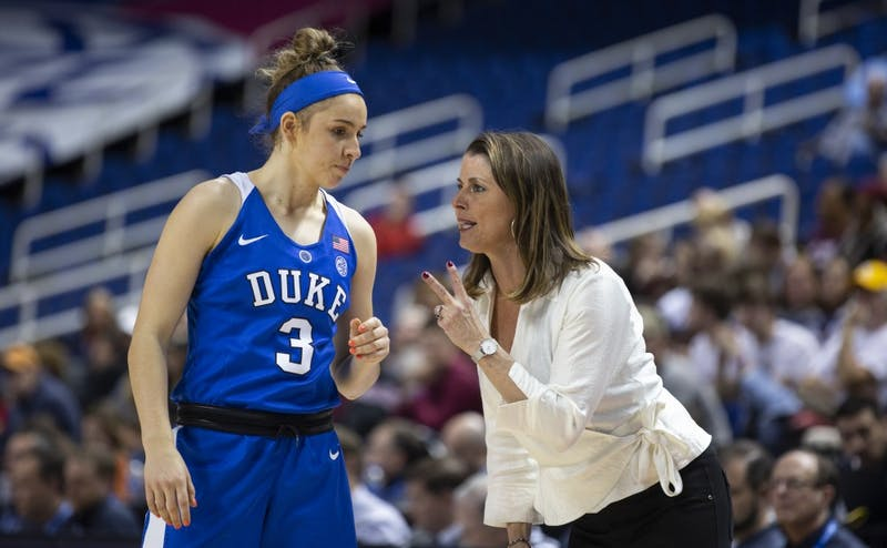 The emergence of freshman Miela Goodchild was a rose in a thorn bush for Duke this season.